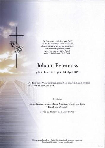 Johann Peternuss