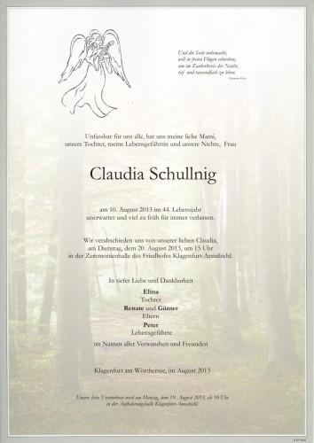 Claudia Schullnig