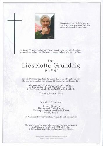 Lieselotte Grundnig