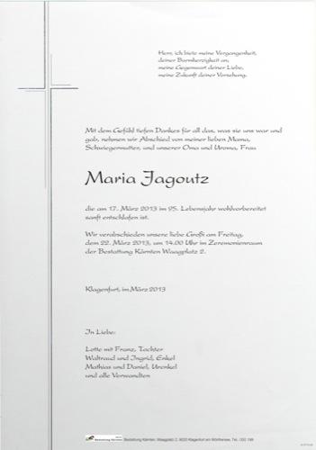 JAGOUTZ Maria