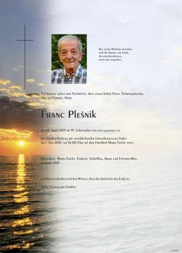 Franc Plesnik
