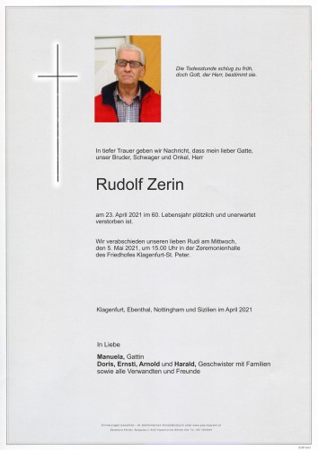 Rudolf Zerin