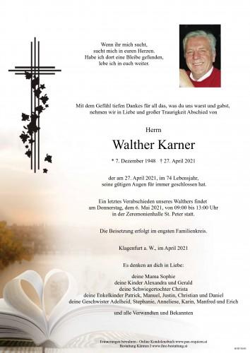 Walther Karner