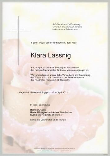 Klara Lassnig