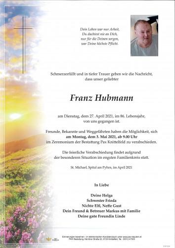 Franz Hubmann