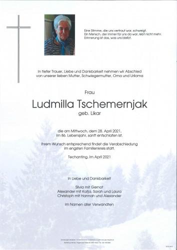 Ludmilla Tschemernjak