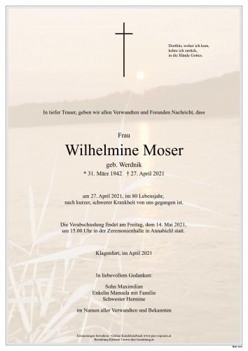 Wilhelmine Moser