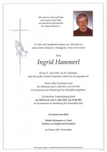 Ingrid Hammerl
