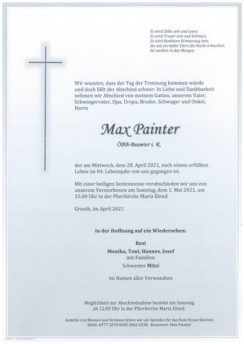 Max Painter
