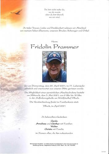 Fridolin Prammer