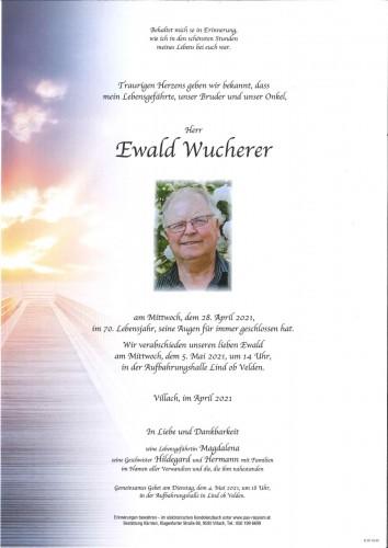 Ewald Wucherer