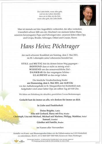 Hans Heinz Pöchtrager