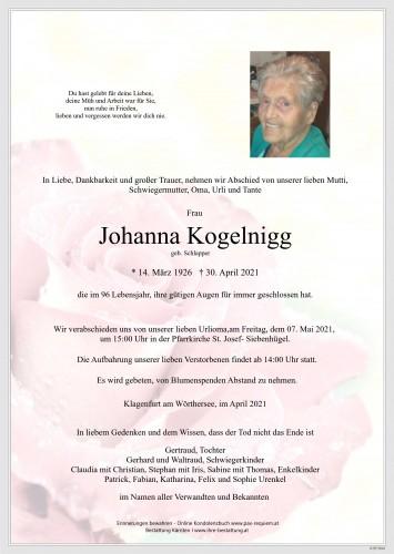 Johanna Kogelnigg