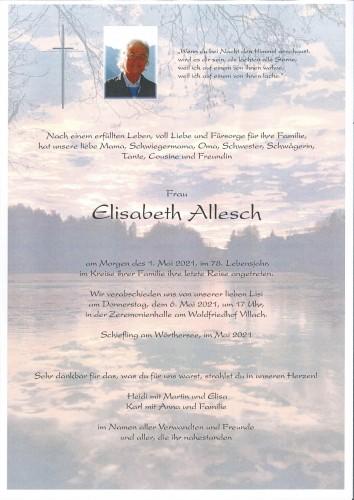 Elisabeth Allesch