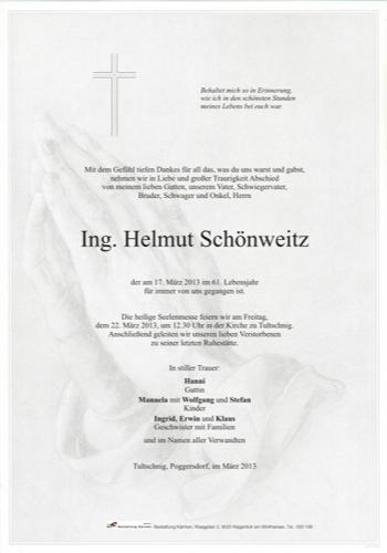SCHÖNWEITZ Helmut