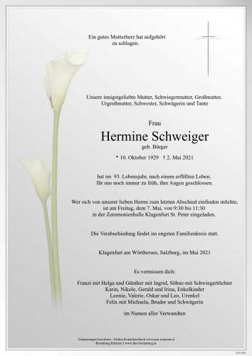 Hermine Schweiger