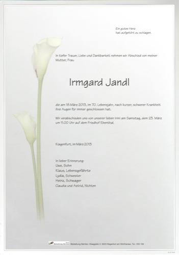 JANDL Irmgard