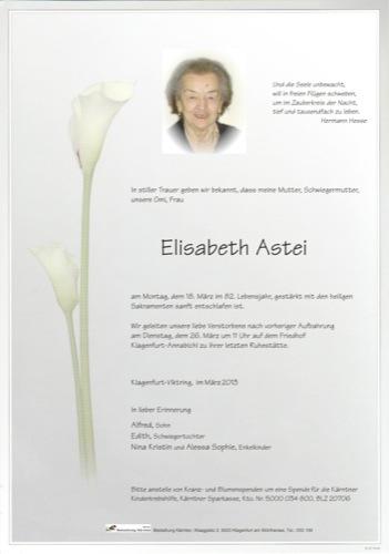ASTEI Elisabeth