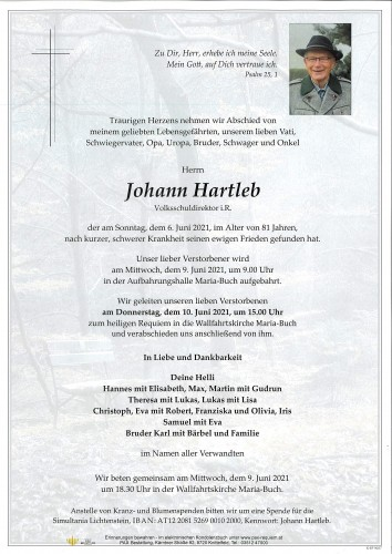 Johann Hartleb