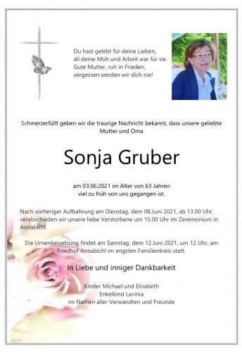 Sonja Gruber
