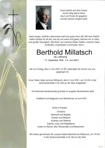 Berthold Millatsch vlg. Lattmanig