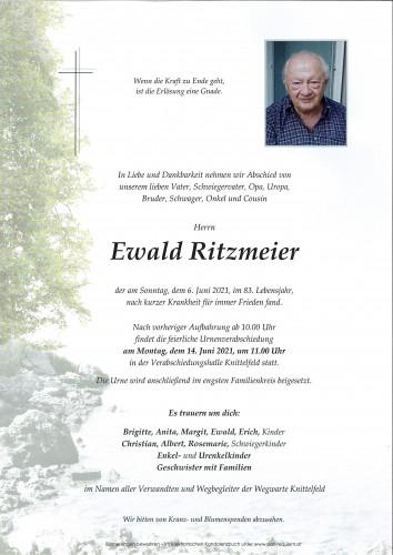 Ewald Ritzmeier