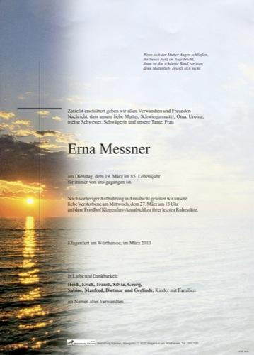 MESSNER Erna