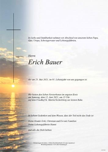 Erich Bauer