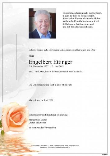 Engelbert Ettinger