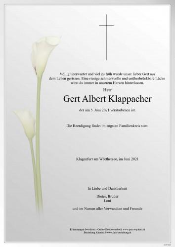 Gert Klappacher