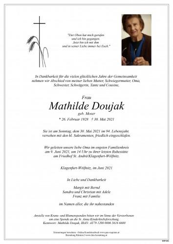 Mathilde Doujak