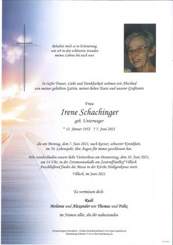 Irene Schachinger