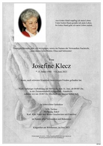 Josefine Klecz