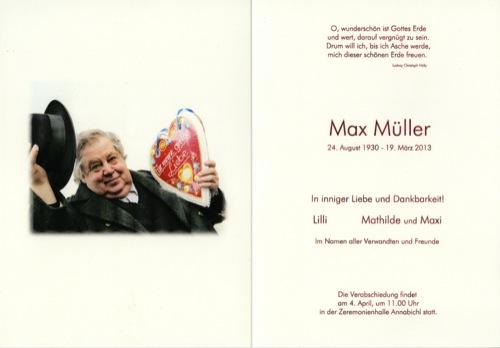 MÜLLER Maximilian