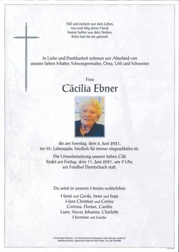 Cäcilia Ebner