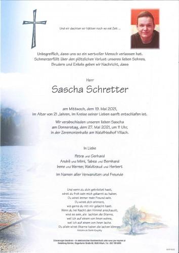 Sascha Schretter