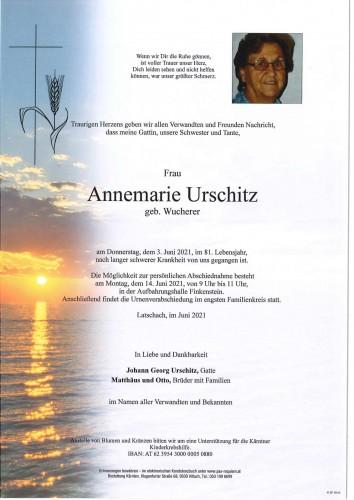 Annemarie Urschitz