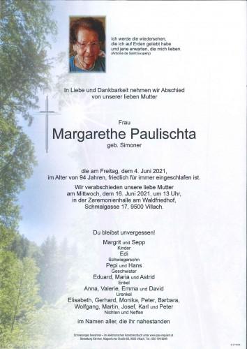 Margarethe Paulischta