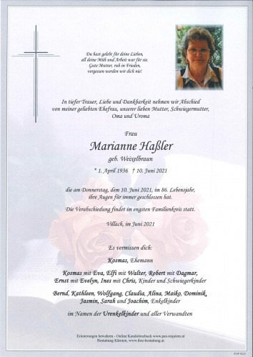 Marianne Haßler