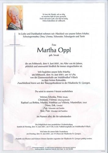 Martha Oppl