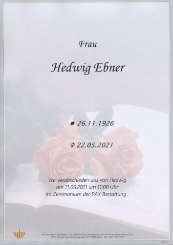 Hedwig Ebner