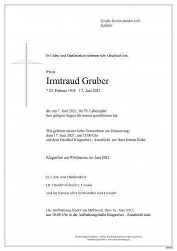 Irmtraud Gruber