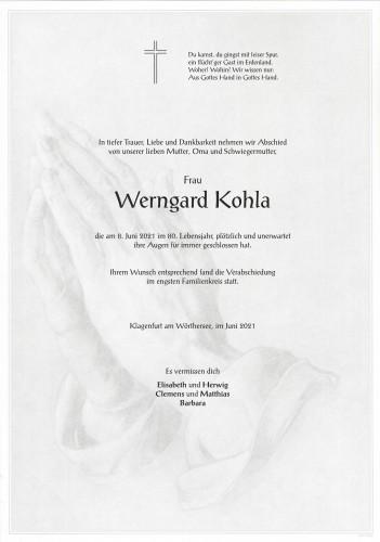 Werngard Kohla