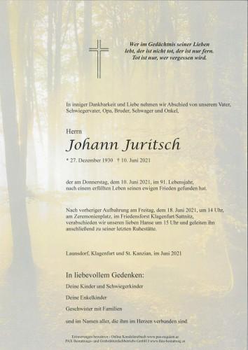 Johannn Juritsch