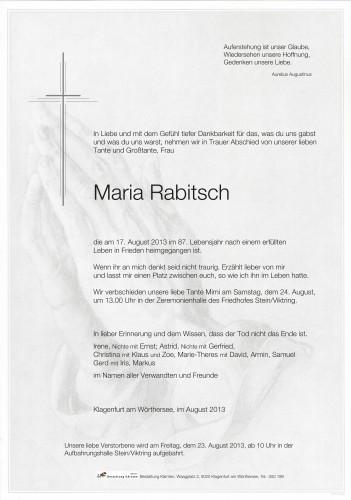 Maria Rabitsch