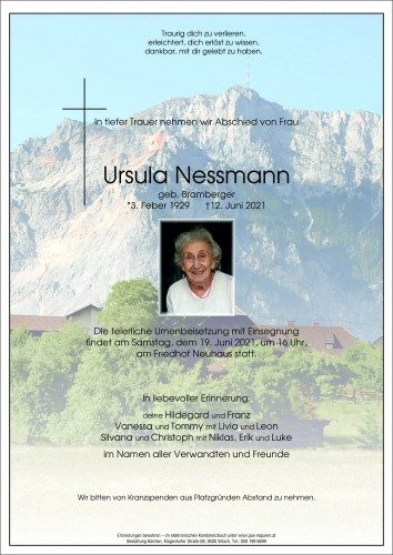 Ursula Nessmann
