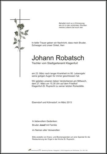ROBATSCH Johann