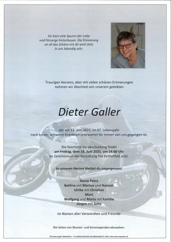 Dieter Galler