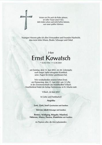 Ernst Kowatsch