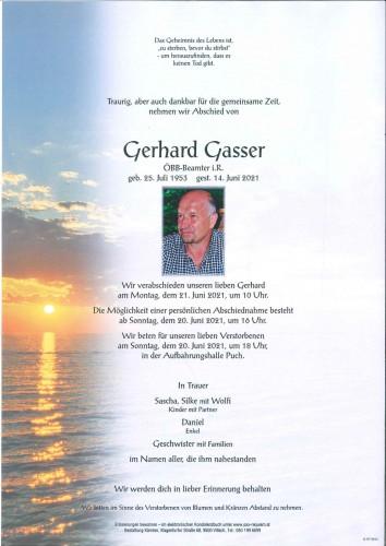 Gerhard Gasser